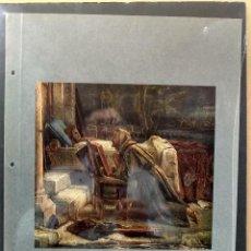 Arte: EDUARD VON STEINLE , COSTUMBRISTA, PLANCHA A COLOR Nº 21 DE DEUTSCHE MALEREI 1909. Lote 222482661