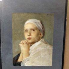 Arte: MAX THEBY , COSTUMBRISTA, PLANCHA A COLOR Nº 35 DE DEUTSCHE MALEREI 1909. Lote 222483322
