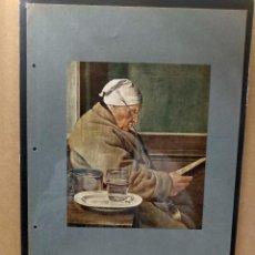 Arte: JULIUS ISAAK JACOB , COSTUMBRISTA, PLANCHA A COLOR Nº 36 DE DEUTSCHE MALEREI 1909. Lote 222483610