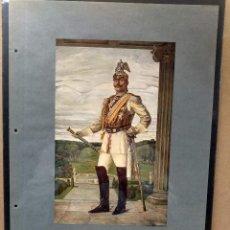 Arte: ROBERT WEIFE , COSTUMBRISTA, PLANCHA A COLOR Nº 100 DE DEUTSCHE MALEREI 1909. Lote 222483960