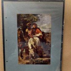 Arte: HANS VON MARÉES , COSTUMBRISTA, PLANCHA A COLOR Nº 85 DE DEUTSCHE MALEREI 1909. Lote 222484191