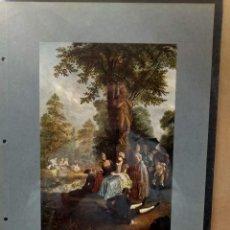 Arte: DANIEL NIKOLAUS CHODOWIECKI , COSTUMBRISTA, PLANCHA A COLOR Nº 30 DE DEUTSCHE MALEREI 1909. Lote 222484533
