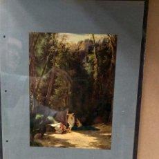 Arte: CARL EDUARD FERDINAND BLECHEN , COSTUMBRISTA, PLANCHA A COLOR Nº 27 DE DEUTSCHE MALEREI 1909. Lote 222484951