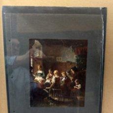 Arte: BENJAMIN VAUTIER , COSTUMBRISTA, PLANCHA A COLOR Nº 18 DE DEUTSCHE MALEREI 1909. Lote 222485520