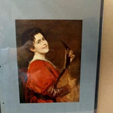 Arte: FRIEDRICH AUGUST VON KAULBACH , MUSICA, PLANCHA A COLOR Nº 41 DE DEUTSCHE MALEREI 1909. Lote 222486063
