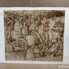 Arte: AENEAS SYLVIUS DE BERNARDINO PINTURICCHIO, MEISTER ALBERTINA, PLANCHA 769-770. Lote 224877637