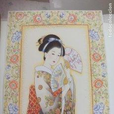 Arte: LAMINA. RA Nº 29 ORIENTAL, GEISHA, MUJER ORIENTAL JAPONESA. TALLEDA. BARCELONA.1994. 40,5 X 30,5 CM. Lote 225374098