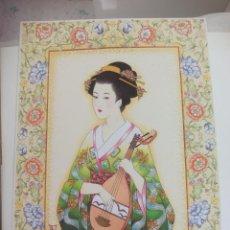 Art: LAMINA. RA Nº 30 ORIENTAL, GEISHA, MUJER ORIENTAL JAPONESA. TALLEDA. BARCELONA.1994. 40,5 X 30,5 CM. Lote 225374875