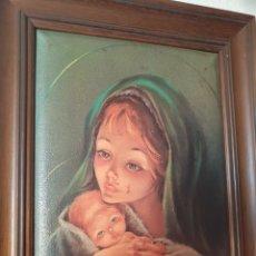 Arte: ANTIGUO CUADRO RELIGIOSO. Lote 225995855