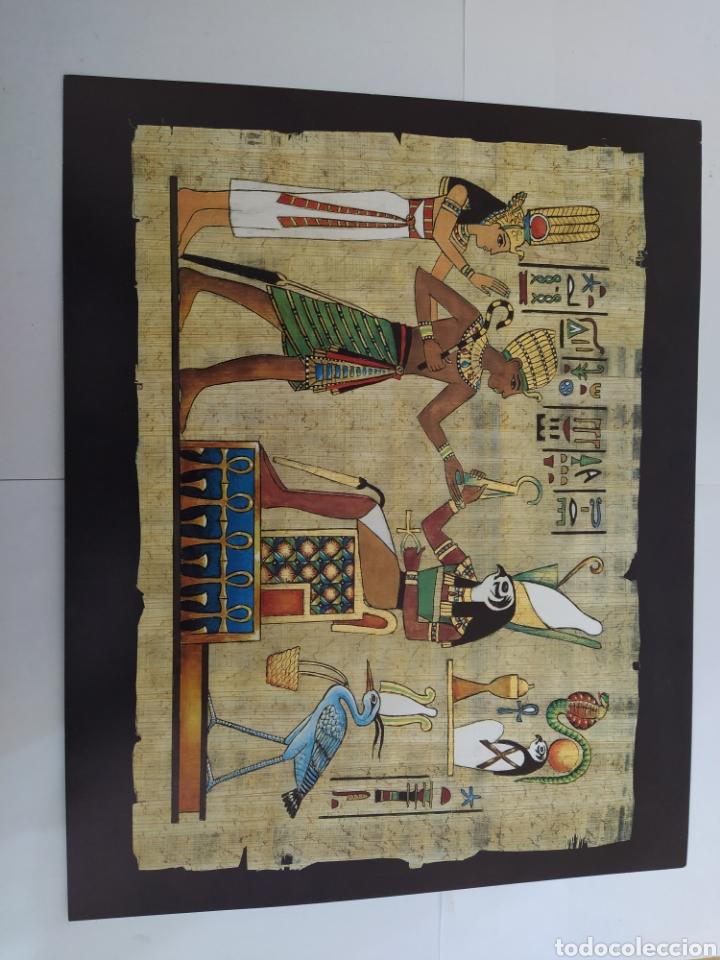 Arte: LOTE LAMINAS EGIPCIAS - L.G. TALLEDA BARCELONA - 24X30 CM - Foto 2 - 226135045