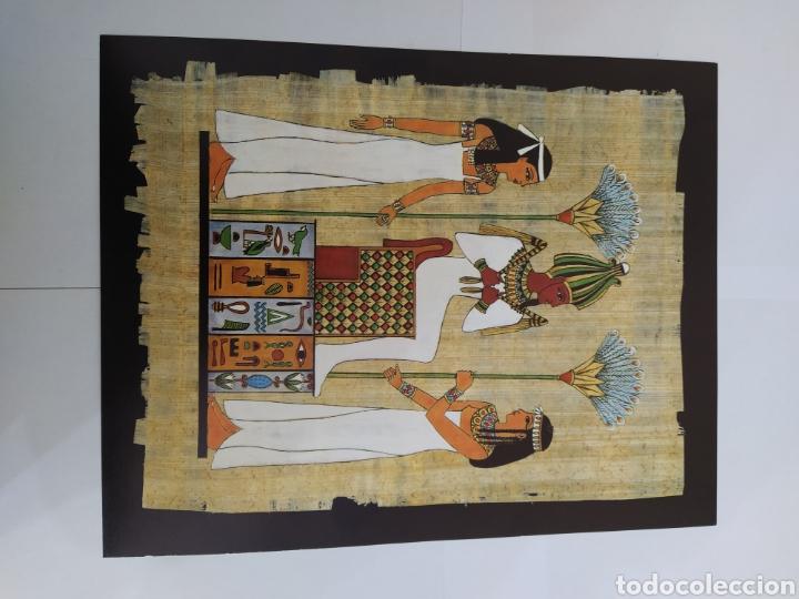 Arte: LOTE LAMINAS EGIPCIAS - L.G. TALLEDA BARCELONA - 24X30 CM - Foto 3 - 226135045