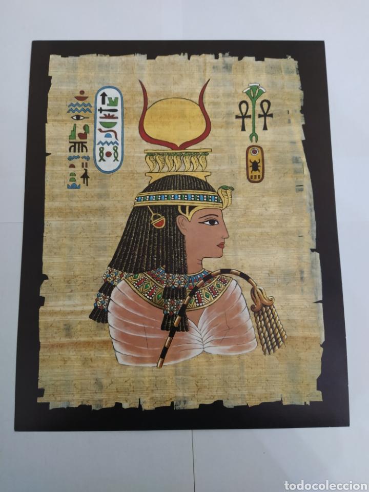 Arte: LOTE LAMINAS EGIPCIAS - L.G. TALLEDA BARCELONA - 24X30 CM - Foto 4 - 226135045