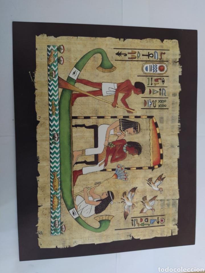 Arte: LOTE LAMINAS EGIPCIAS - L.G. TALLEDA BARCELONA - 24X30 CM - Foto 5 - 226135045