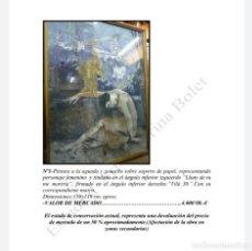 Arte: PINTURA EMILI VILÀ. Lote 226253260
