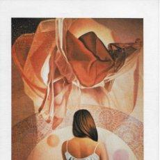 Arte: VIDAL JIMENEZ - Y SERAS MAYOR - LAMINA / LITOGRAFIA - 24X17CM. AÑOS 80. Lote 227231980