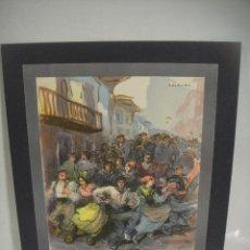 Arte: KALEGIRA - LITOGRAFIA DE UNA OBRA DE F. LAGARDE. Lote 227272250