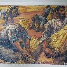 Arte: VELA ZANETTI - LAMINA 41 X 28 CM - LA SIEGA- 1975. Lote 229767545