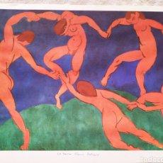 Arte: ★1★LÁMINA; LA DANZA - HENRI MATISSE 1910.. Lote 229985950