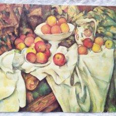 Arte: ★1★LÁMINA; NATURALEZA MUERTA; PAUL CÉZANNE 1895-1900.. Lote 229990780