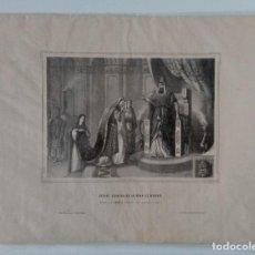 Arte: LAMINA ESTHER EXIMIDA DE LA PENA DE MUERTE. EDITOR HEREDERO DE PABLO RIERA. W. Lote 230984985
