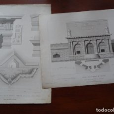 Arte: LAMINAS ARQUITECTURA, FUERTE SAN ANDRÉS VENECIA. Lote 235645305
