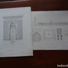 Arte: LAMINAS ARQUITECTURA, MEZQUITAS CAIRO. Lote 235651375