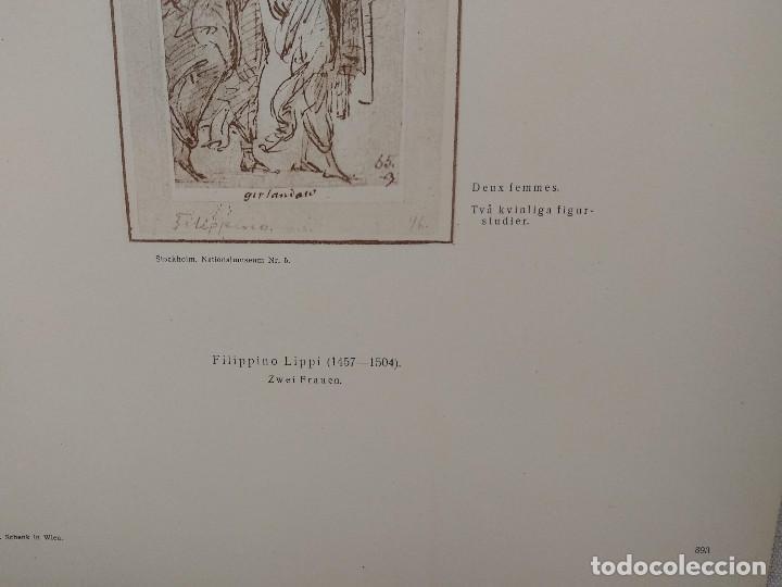 Arte: Dos mujeres de Lippi, Meister Albertina, plancha nº 893 - Foto 3 - 237132305