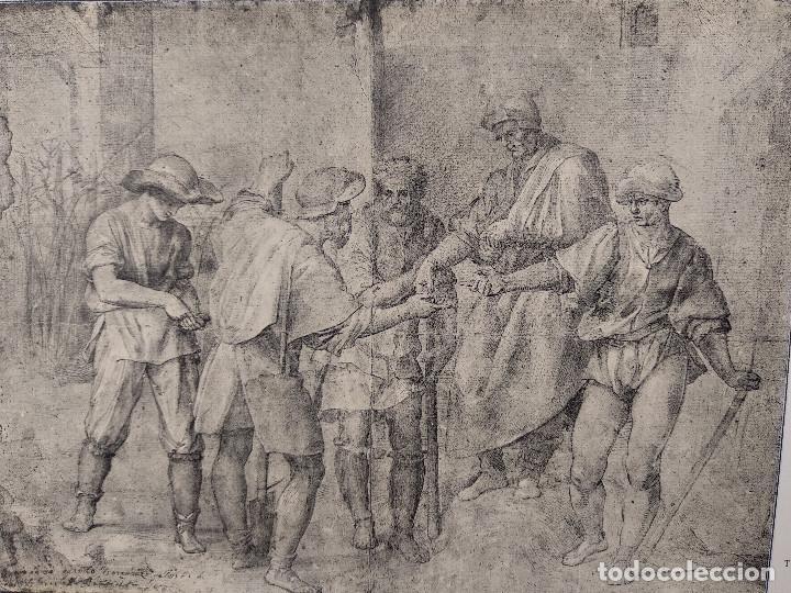 Arte: Parabolas a los viticultores de Andrea del Sarto, Meister Albertina, plancha nº 1368 - Foto 2 - 237151855