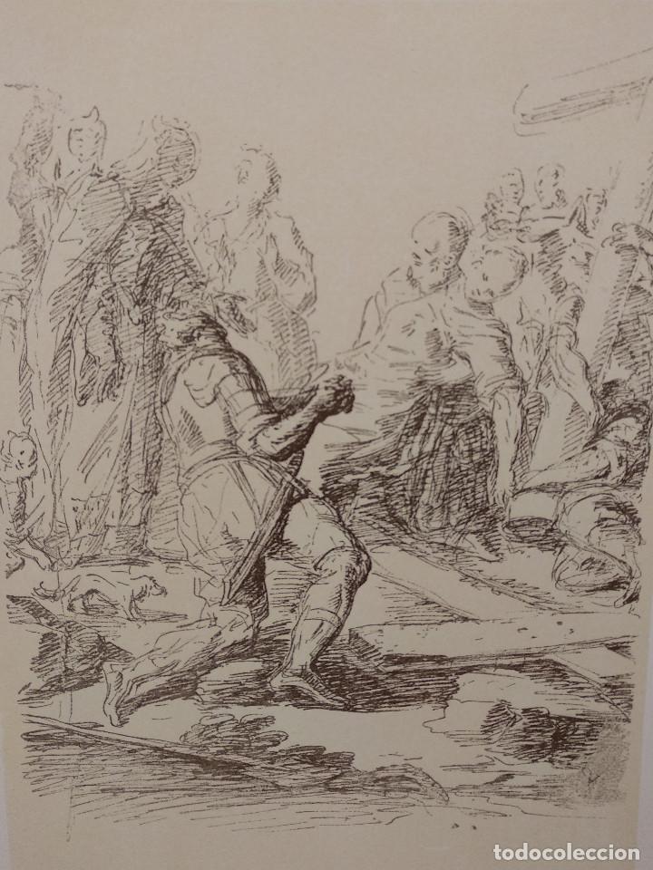 Arte: El descubrimiento de Salvator Rosa, Meister Albertina, plancha nº 30 - Foto 2 - 237152595