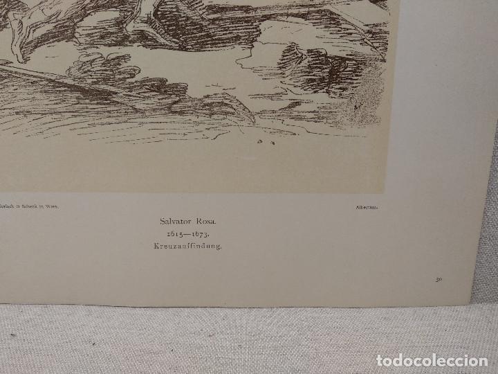 Arte: El descubrimiento de Salvator Rosa, Meister Albertina, plancha nº 30 - Foto 3 - 237152595