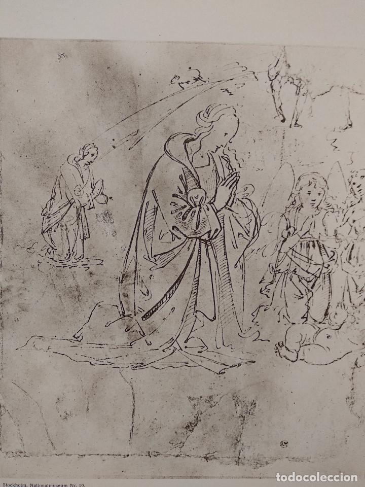 Arte: Estudio de Maria de Lorenzo di Credi, Meister Albertina, plancha nº 1098 - Foto 2 - 237153940