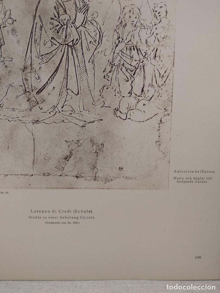 Arte: Estudio de Maria de Lorenzo di Credi, Meister Albertina, plancha nº 1098 - Foto 3 - 237153940