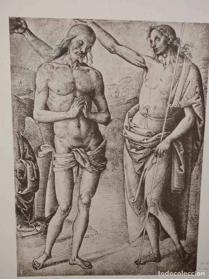 Arte: Bautismo de Cristo de Pietro Perugino, Meister Albertina, plancha nº 463 - Foto 2 - 237156725