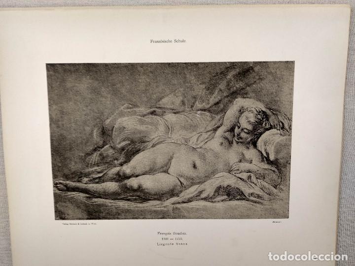 VENUS DE FRANCOIS BOUCHER, MEISTER ALBERTINA, PLANCHA Nº 276 (Arte - Láminas Antiguas)