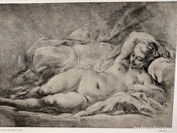 Arte: Venus de Francois Boucher, Meister Albertina, plancha nº 276 - Foto 2 - 237372585