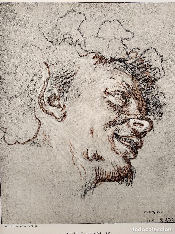 Arte: Satiro de Antoine Coypel, Meister Albertina, plancha nº 952 - Foto 2 - 237373880