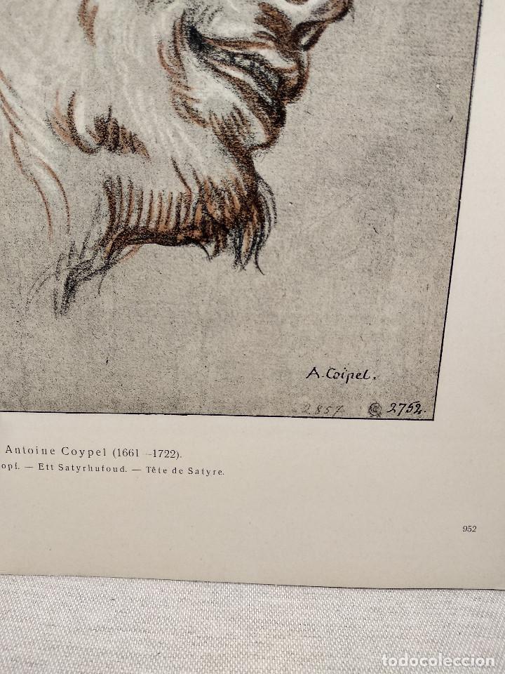 Arte: Satiro de Antoine Coypel, Meister Albertina, plancha nº 952 - Foto 3 - 237373880