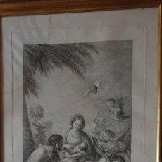 Arte: CUADRO AGUAFUERTE DEL SIGLO XVIII. Lote 238607730
