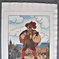 Arte: GUY ARNOUX - LE TAMBOUR DES MOUSQUETAIRES. EL TAMBOR DE LOS MOSQUETEROS.. Lote 238625765