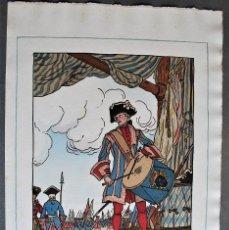 Arte: GUY ARNOUX - LE TAMBOUR DES GARDES. SOLDADO TOCANDO EL TAMBOR.. Lote 238626600
