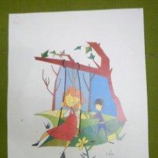 Arte: LÁMINA. Lote 239694550