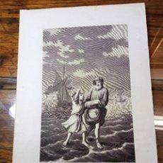 Arte: ANTIGUA BELLA ESTAMPA TIPO GRABADO - SANTOS NAZARIO Y CELSO MÁRTIRES. Lote 239997345