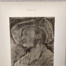 Arte: RETRATO DE PROTONOTARIO, DE ALBRECHT DURERO, MEISTER ALBERTINA, PLANCHA Nº 269. Lote 240589795