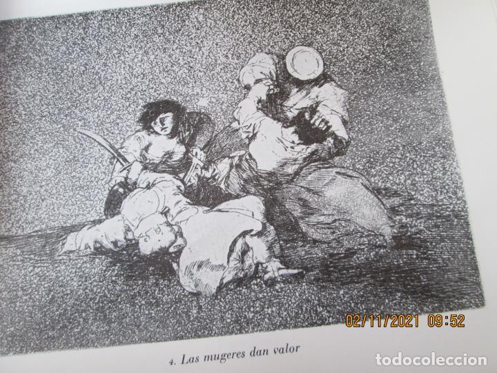 Arte: LOS DESASTRES DE LA GUERRA - FRANCISCO GOYA Y LUCIENTE - 83 LÁMINAS - 1983 - PORTADA 1ª ed. 1863. - Foto 7 - 241301295