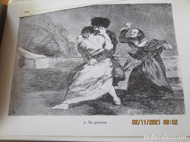 Arte: LOS DESASTRES DE LA GUERRA - FRANCISCO GOYA Y LUCIENTE - 83 LÁMINAS - 1983 - PORTADA 1ª ed. 1863. - Foto 8 - 241301295