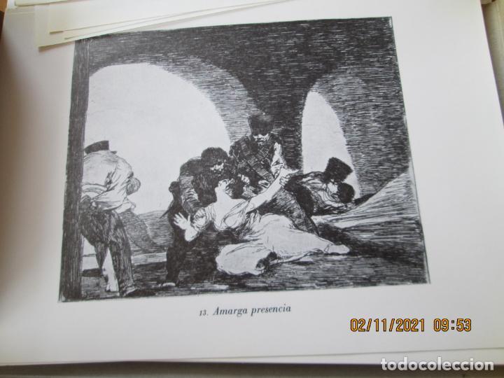 Arte: LOS DESASTRES DE LA GUERRA - FRANCISCO GOYA Y LUCIENTE - 83 LÁMINAS - 1983 - PORTADA 1ª ed. 1863. - Foto 9 - 241301295