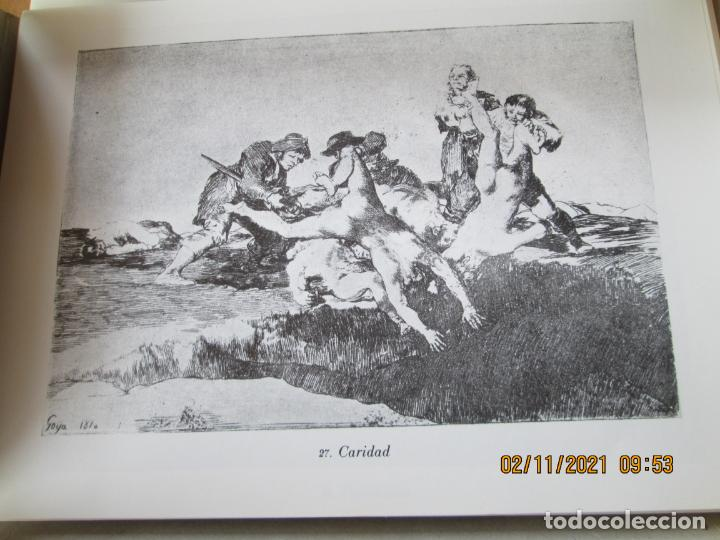 Arte: LOS DESASTRES DE LA GUERRA - FRANCISCO GOYA Y LUCIENTE - 83 LÁMINAS - 1983 - PORTADA 1ª ed. 1863. - Foto 10 - 241301295