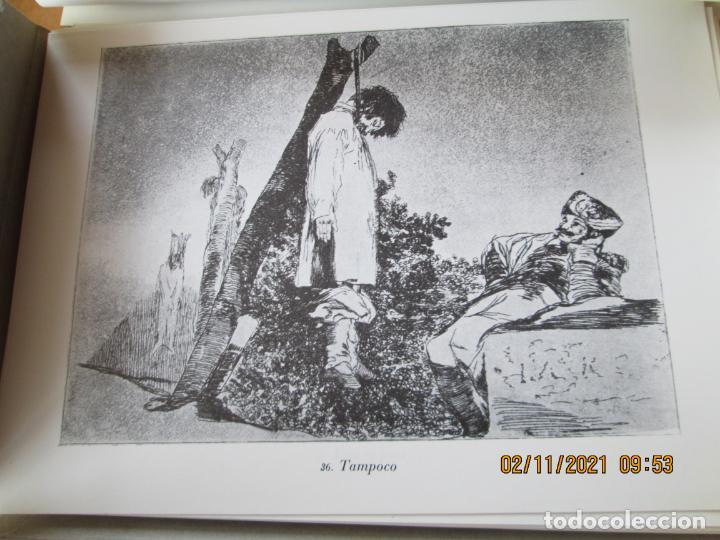 Arte: LOS DESASTRES DE LA GUERRA - FRANCISCO GOYA Y LUCIENTE - 83 LÁMINAS - 1983 - PORTADA 1ª ed. 1863. - Foto 11 - 241301295