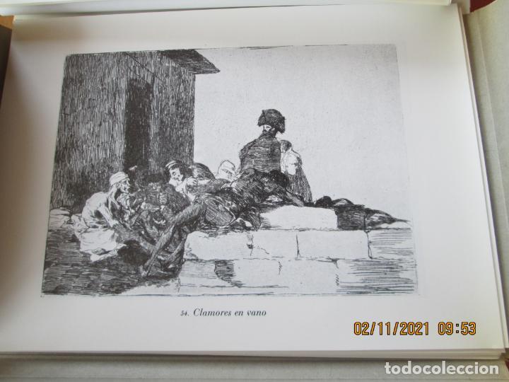 Arte: LOS DESASTRES DE LA GUERRA - FRANCISCO GOYA Y LUCIENTE - 83 LÁMINAS - 1983 - PORTADA 1ª ed. 1863. - Foto 13 - 241301295