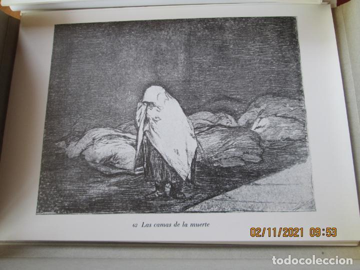 Arte: LOS DESASTRES DE LA GUERRA - FRANCISCO GOYA Y LUCIENTE - 83 LÁMINAS - 1983 - PORTADA 1ª ed. 1863. - Foto 14 - 241301295